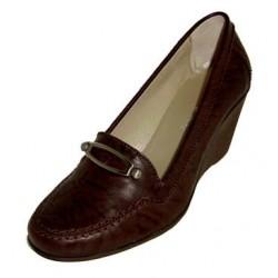 Zapato en piel para Sra. Ley Land.Ref:13102