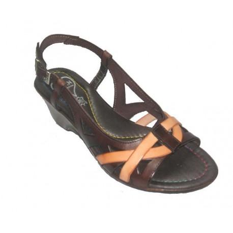 Zapato de cuña de mujer de la casa CDN.