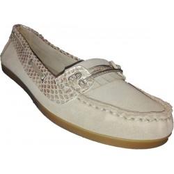 Zapato en Nacar y aluminio Galocho