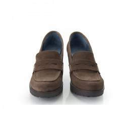 Zapato de tacón con plataforma
