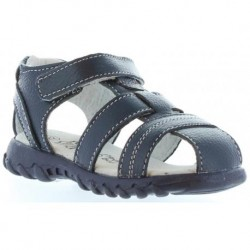 Sandalia para niño en color azul marino