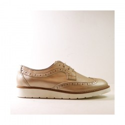 Zapato señora V&G fabricado en España, calzado artesanal.