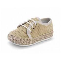 Zapatilla para bebe sin suela tipo Basket D'BEBE