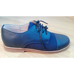 Zapato para niño de vestir tipo inglés.Ref:BB-A1883