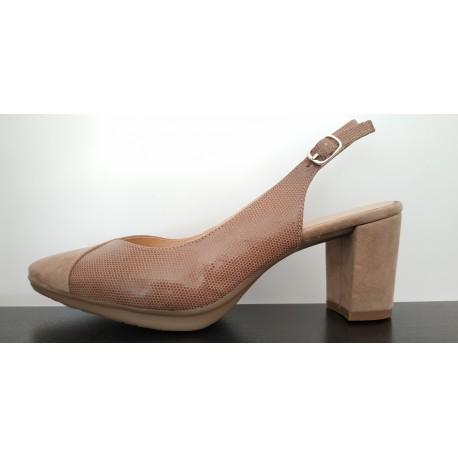 Zapato de vestir señora en piel. Ref: 1562