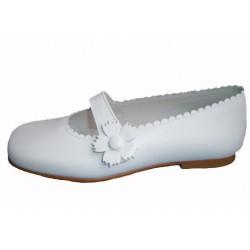 Zapato de comunión para niña de la casa Roly Poly.Ref:1948