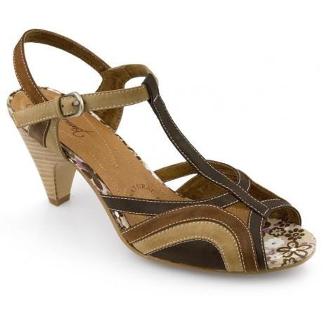 Sandalia de señora de la casa Pilar Monet. Ref: 48140