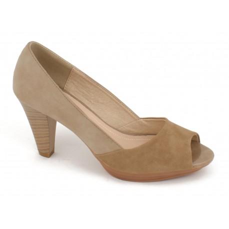 Zapato para mujer con tacón modelo LolaBlue. Ref:33D164