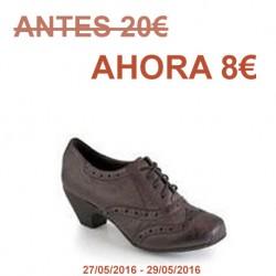 Zapato de cordón casa Pilar Monet.Ref:51720