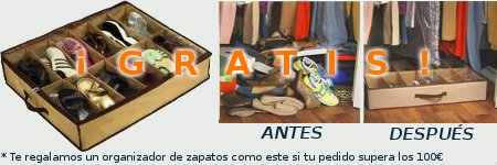 organizador de zapatos