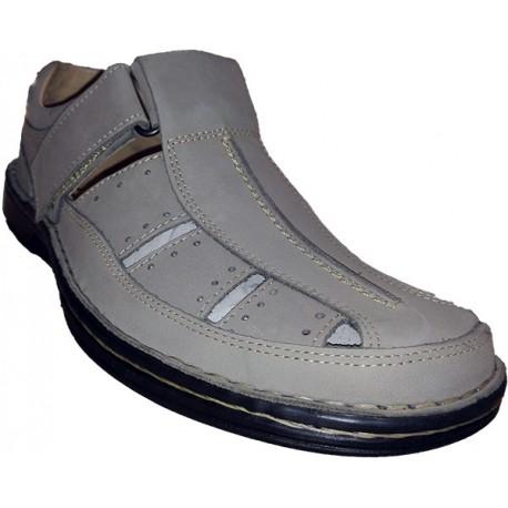 Sandalia de hombre en piel de la marca Valdegama. Ref:925