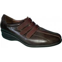Zapatos de mujer con velcro de la casa Galochos