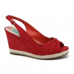 Zapato señora antelina rojo de la casa XTI.Ref:26902