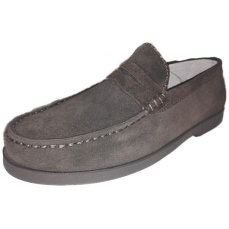 Zapato para hombre en serraje