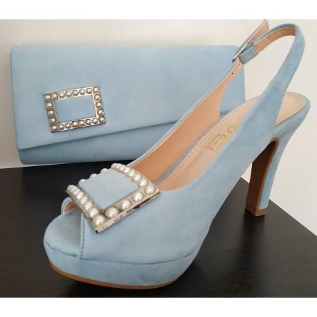 Zapato de fiesta de señora de la casa Prestigio. Ref: C-154