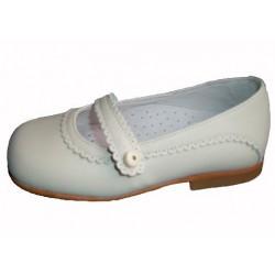 Zapato de comunión para niña de la casa Clover.Ref:455