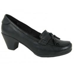 Zapato de mujer con tacón casa B.Y. Dile. Ref:3029A.